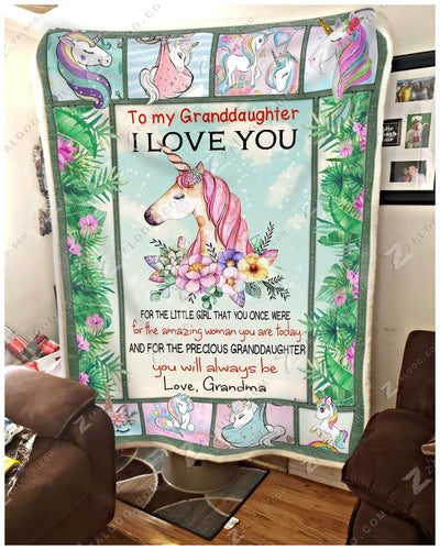 Unicorn - To My Granddaughter - You Will Always Be - 2