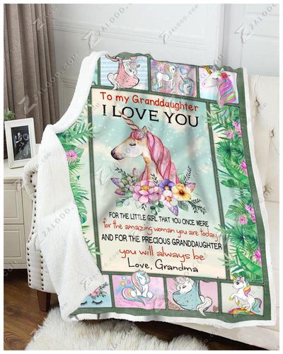 Unicorn - To My Granddaughter - You Will Always Be - 3