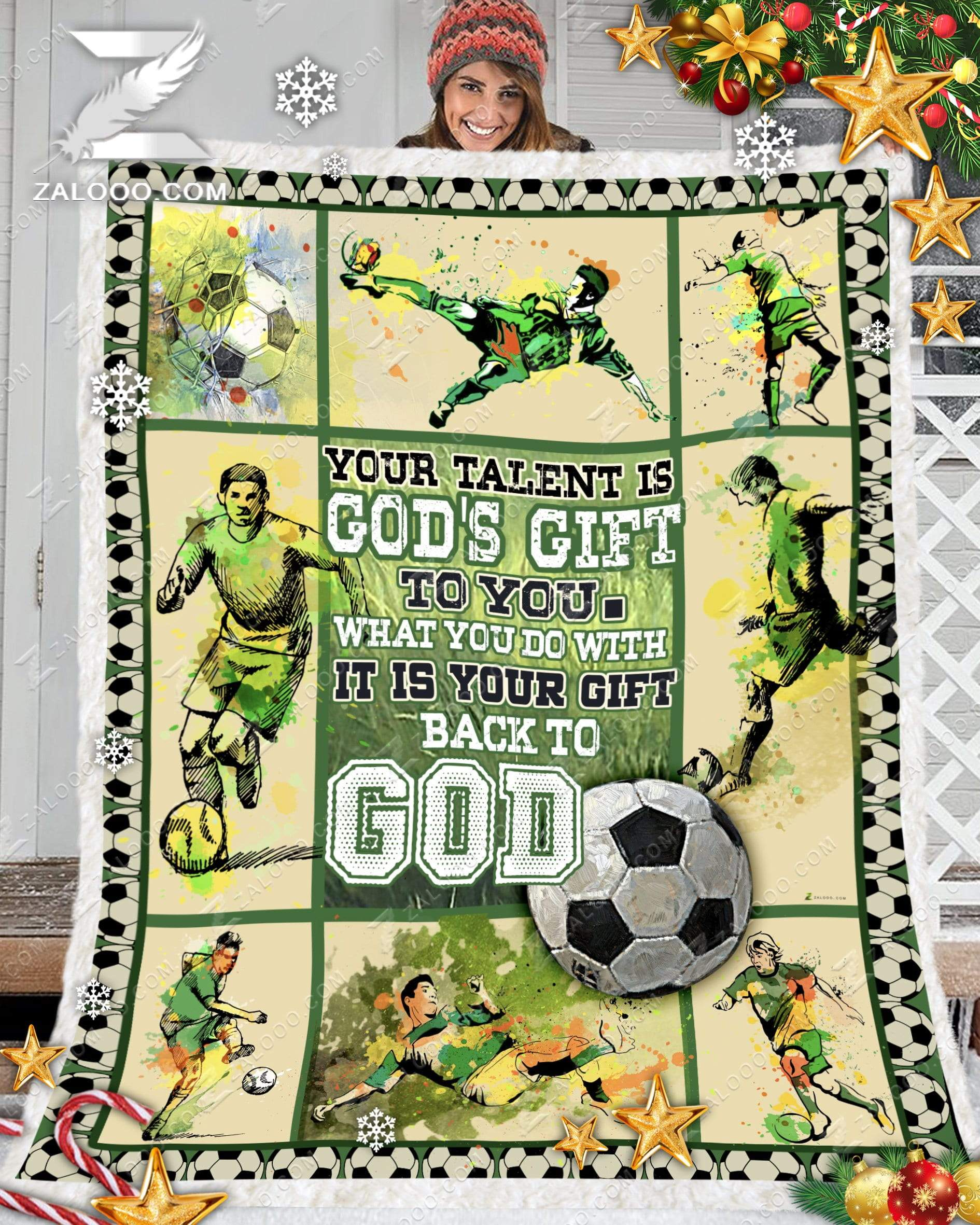 Birthday Gift - SOCCER - Your Talent Is Gods Gift To You - 1