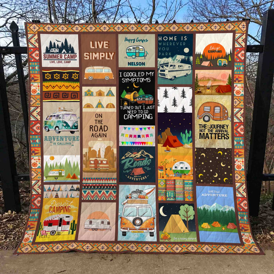 Camping Quilt Blanket EP324