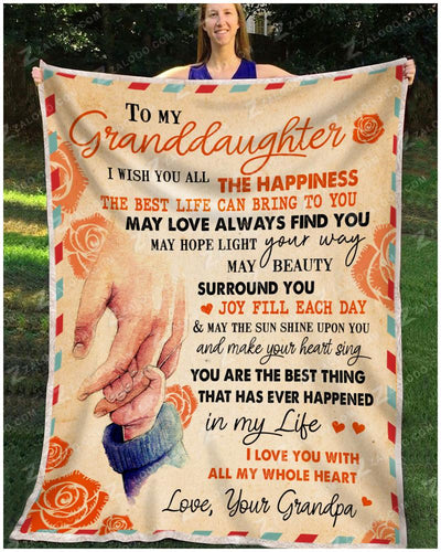 GRANDDAUGHTER Grandpa - I Wish You - 1