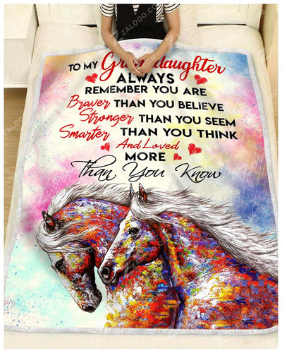 HORSE - Granddaughter - You are loved more than you know - 2