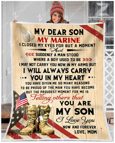 MARINE - SON Mom - I closed my eyes - 3