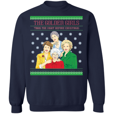 The Golden Girl Twas The Night Before Christmas Tshirt