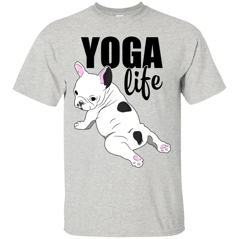 Yoga Life Frenchie Tshirt
