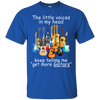 The Little Voice In My Head Keep Telling Me Get More Guitar Tshirt