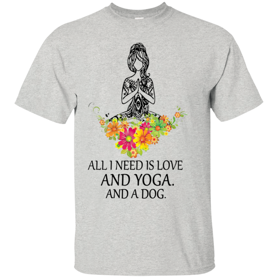 Yoga Dog Tshirt