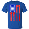 Guitar Flag USA Tshirt