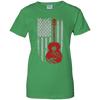 Guitar Flag USA 01 Tshirt