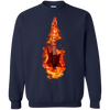 Guitar Fire Tshirt