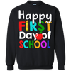 Teacher Happy First Day Of School Tshirt