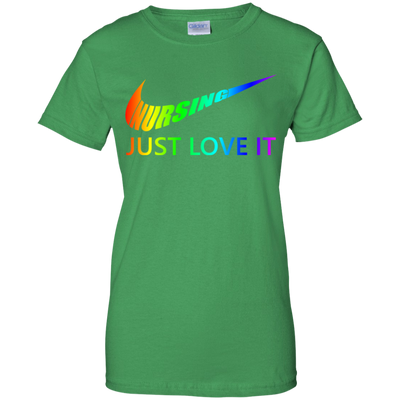 Nursing Just Love It Tshirt