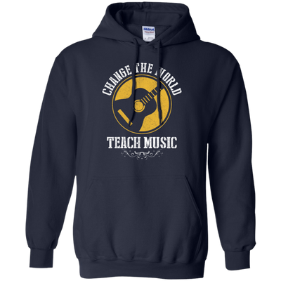 Change The World Teacher Music Tshirt