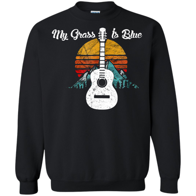 Guitar My Grass Is Blue Tshirt