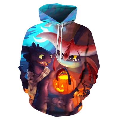 How to Train Your Dragon All Over Hoodie PF129