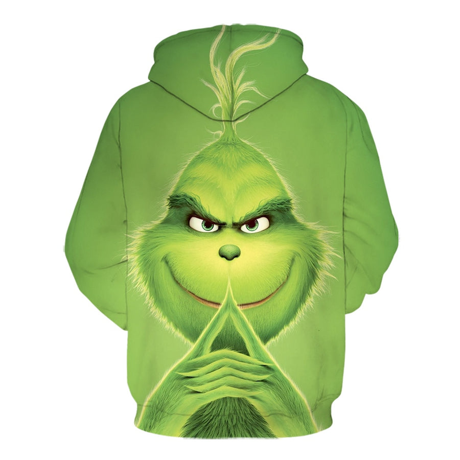 The Grinch Christmas Sweatshirt Hoodie All Over Printed PF165
