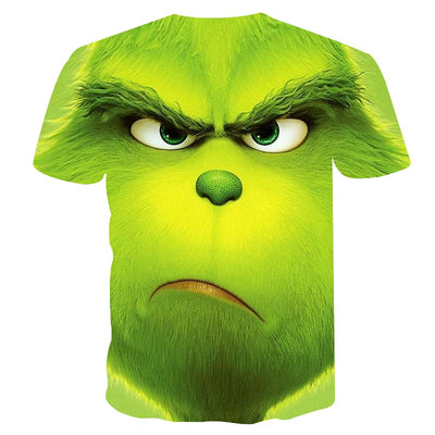 The Grinch Face All Over Print PF101-01