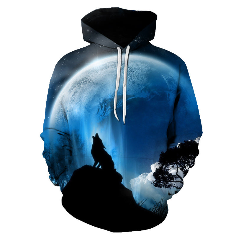 Funny Wolf Warrior All Over Hoodie PF116