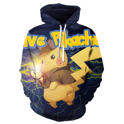2019 new cartoon hoodie Pokemon 3D All Over Hoodie PF127