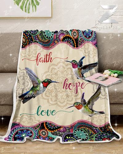 Hummingbird - Faith Hope Love - 3