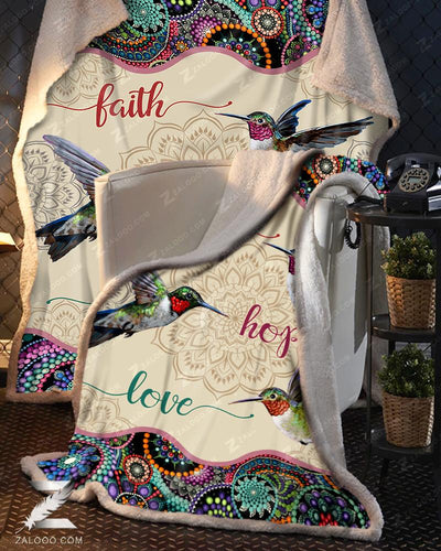 Hummingbird - Faith Hope Love - 1