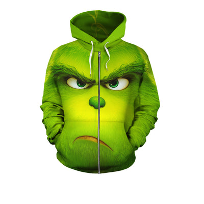 The Grinch 3D All Over Hoodie Sweatshirt PF101