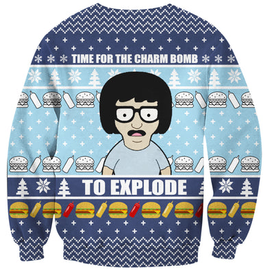 Bob's Burgers Ugly Christmas Hoodie All Over Printed PF176