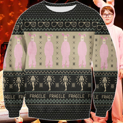 A Christmas Story Ugly Christmas Hoodie All Over Printed PF179