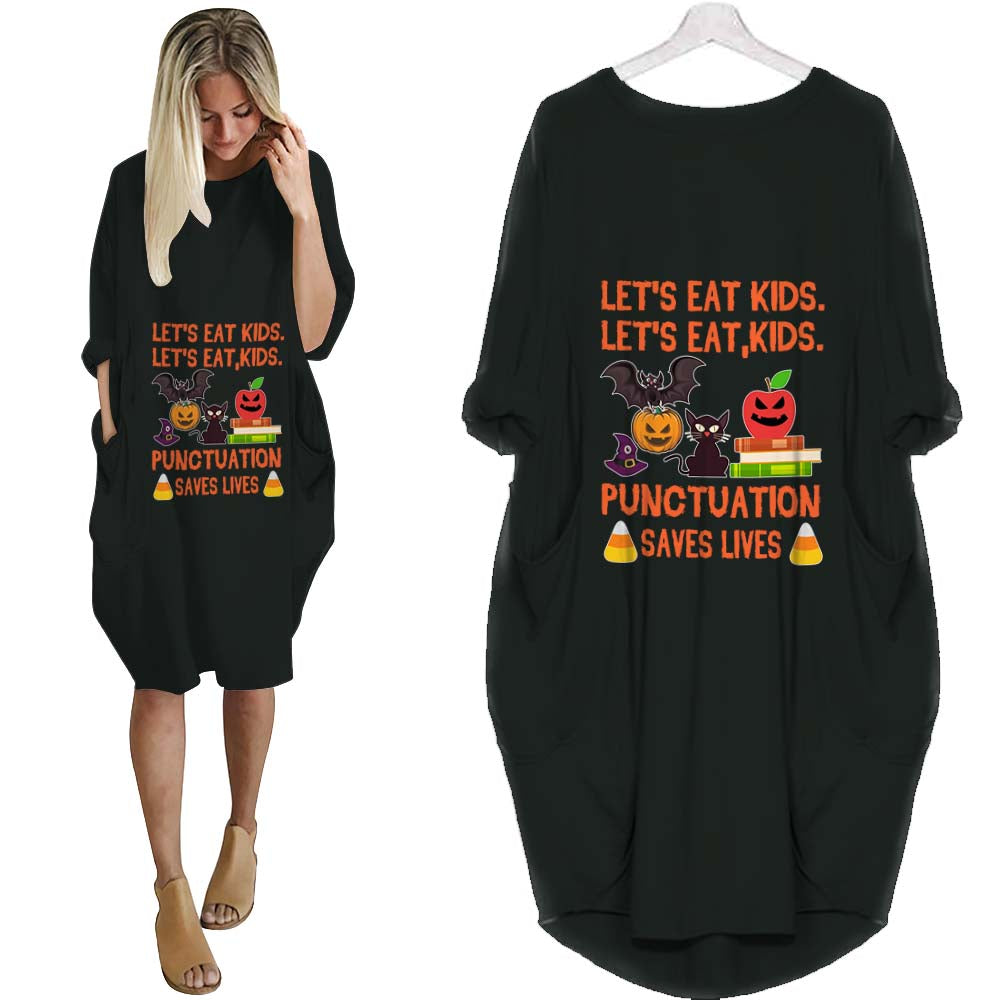 Teacher Eat Kid Batwing Dress