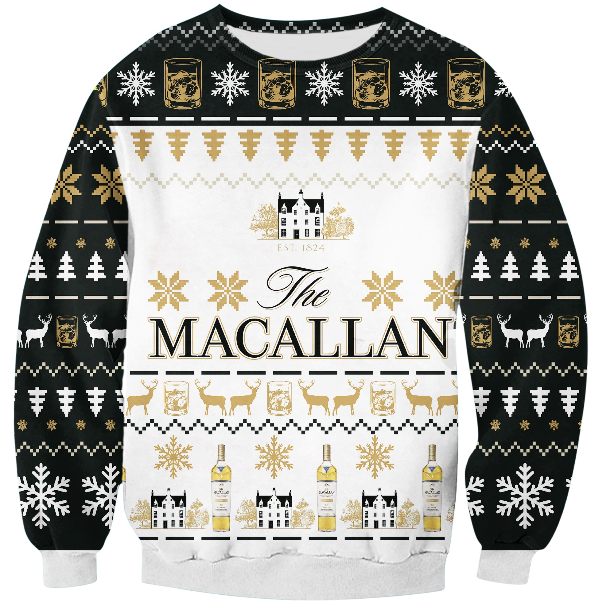 Macallan 3D Print Ugly Christmas Hoodie All Over Printed PF175