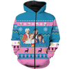 The Golden Girls American sitcom Ugly Christmas All Over Hoodie Sweatshirt PF154