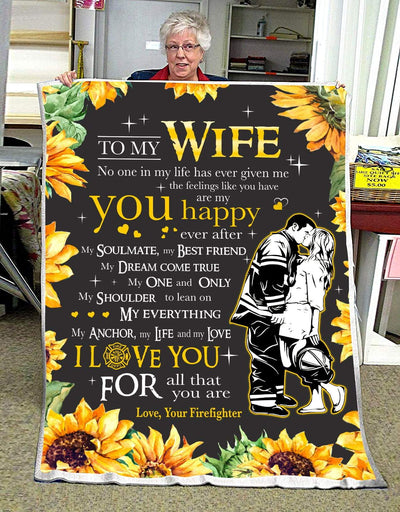 FIREFIGHTER - To My Wife - You are my happy ever after - 1