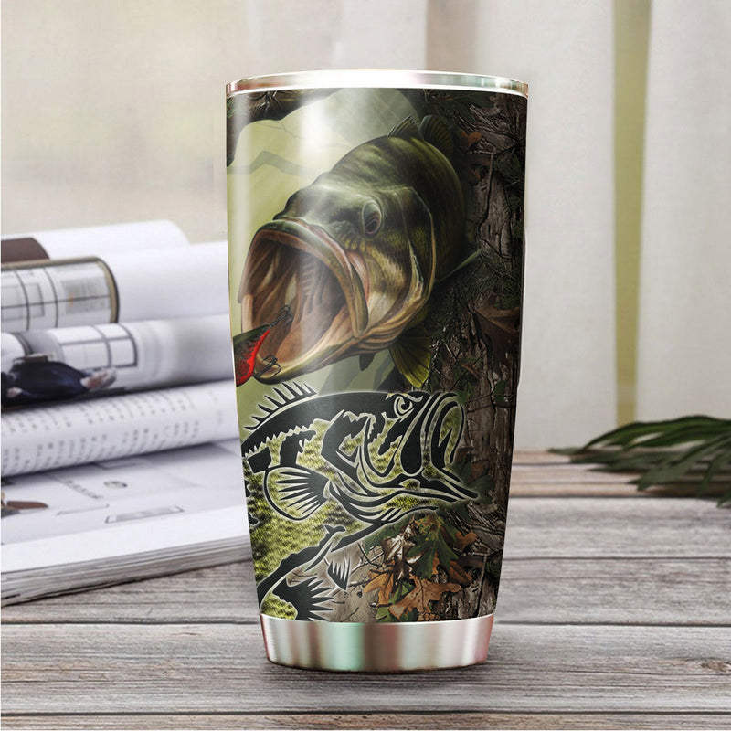 Bass Fishing Tumbler TBL140316
