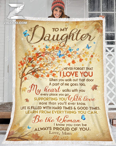 Custom For Daughter From Mom  - Be the woman I know you can be - 3
