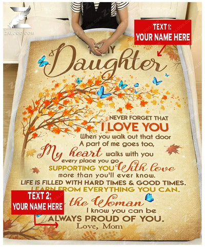 Custom For Daughter From Mom  - Be the woman I know you can be - 2