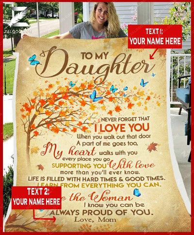 Custom For Daughter From Mom  - Be the woman I know you can be - 5