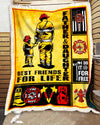 Custom Firefighter Father and Daughter - Best Friends For Life - 4