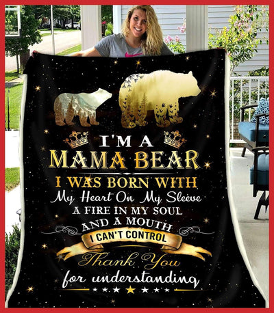 MAMA BEAR - I was born with my heart on my sleeve - 1