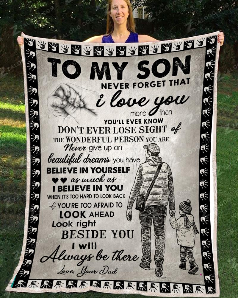 SON Dad - Dont ever lose sight Quilt Blanket EP2867
