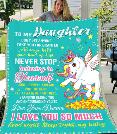 Unicorn - To my daughter - Believing in yourself - 4