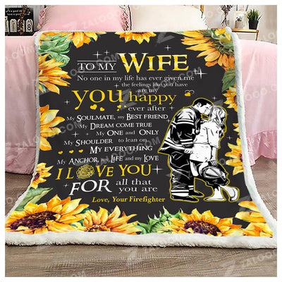 FIREFIGHTER - To My Wife - You are my happy ever after - 2