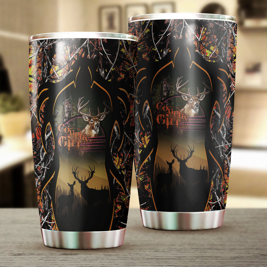 Hunting Country Girl Tumbler 170320 - 1