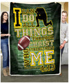 Birthday Gift - FOOTBALL - I Can Do All Things Through Christ - 5
