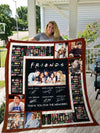 Friends Tv Show Thank You For The Memories Quilt Blanket EP120
