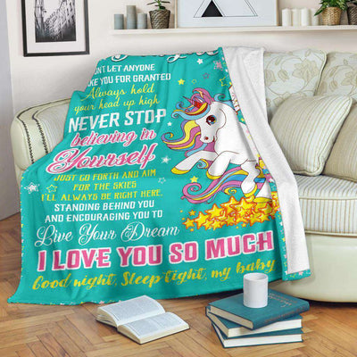 Unicorn - To my daughter - Believing in yourself - 5