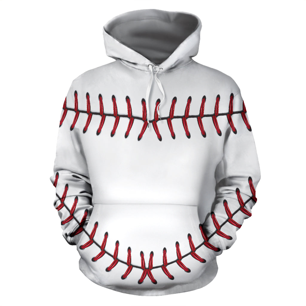 Baseball All Over Hoodie