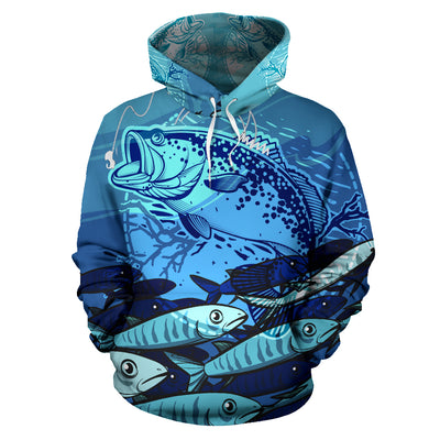 Fishing All Over Hoodie