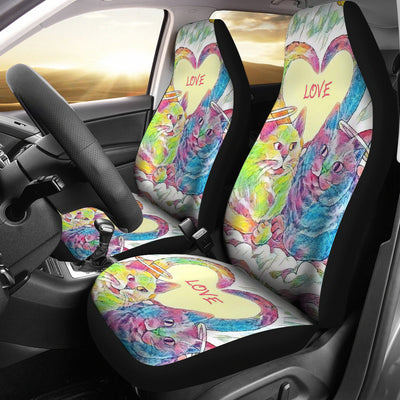 Cat Love Car Seat Covers