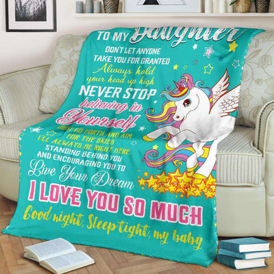 Unicorn - To my daughter - Believing in yourself - 1