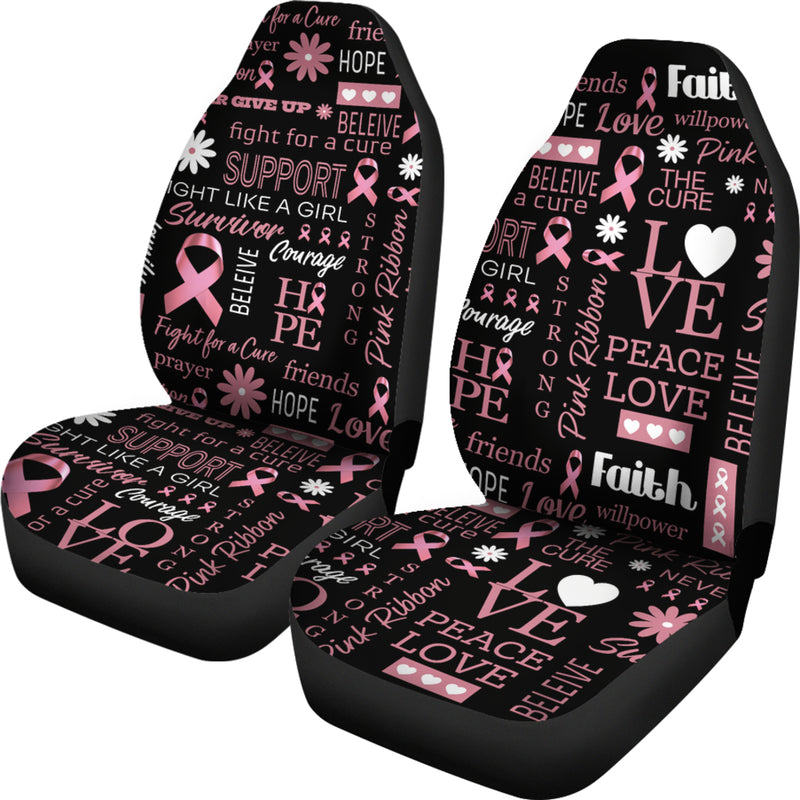 Breast Cancer Awareness Car Seat Covers
